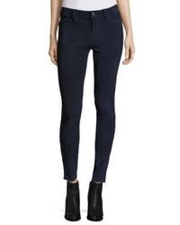 J Brand Nubuck Suede Skinny Jeansblack Iris