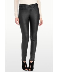 NYDJ Alina Legging In Faux Pebbled Leather