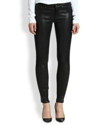Rag and Bone Rag Bonejean The Leather Skinny Jeans