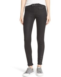 Rag & Bone Jean Ryder Coated Crop Skinny Jeans
