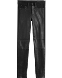Rag & Bone Leather Coated Skinny Jeans