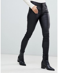 Vila Skinny Jean In Black