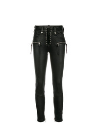 Unravel Project Skinny Lace Up Jeans