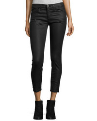 Current/Elliott The Stiletto Coated Jeans Black