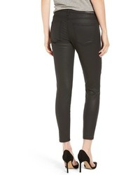 Current/Elliott The Stiletto Coated Skinny Jeans