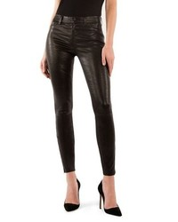 J Brand 8001 Lambskin Leather Pants