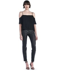 Alexander Wang Stretch Leather Leggings
