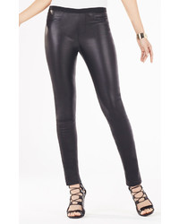 BCBGMAXAZRIA Bayne Leather Leggings