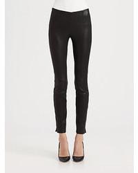 Theory Belisa Danish Leather Pants