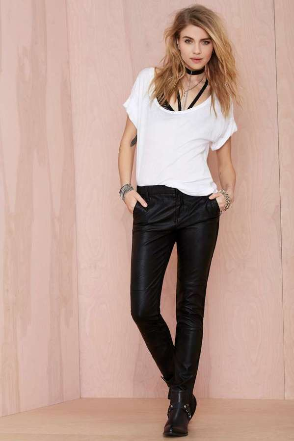 Blank NYC Slap Happy Vegan Leather Pants | Where to buy & how to wear