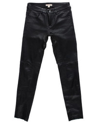 Burberry Brit Leather Skinny Pants