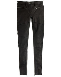 J.Crew Collection Leather Biker Pant