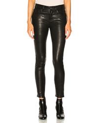 Frame Denim Leather Le Skinny De Jeanne