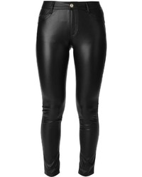 Ermanno Scervino Faux Leather Trousers