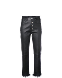 Fitted biker trousers medium 8053382