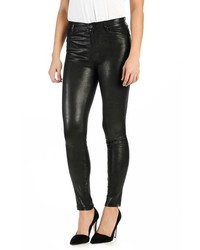 Paige Hoxton High Rise Ultra Skinny Leather Pants