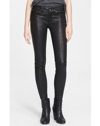 Rag & Bone Jean Lambskin Leather Skinny Pants