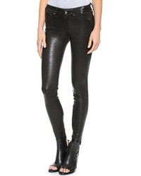 Jean the leather skinny pants medium 139896