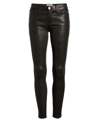 Frame Le Skinny Lambskin Leather Pants