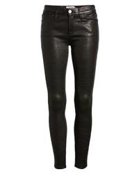 Frame Le Skinny Lambskin Leather Pants