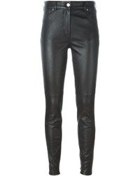 Leather skinny trousers medium 631673