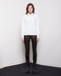 Maison Margiela Line 4 Leather Legging