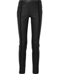 Haider Ackermann Med Stretch Leather Skinny Pants