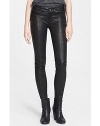 Rag & Bone Jean Lambskin Leather Skinny Pants