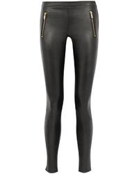 Karl Lagerfeld Sammy Leather Skinny Pants