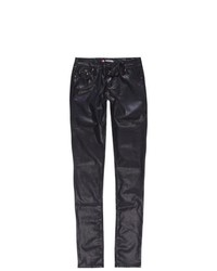 Scissor Girls Faux Leather Pants