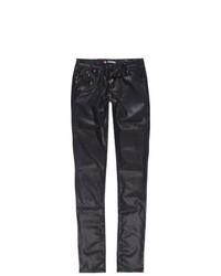 Scissor Girls Faux Leather Pants
