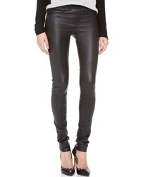 Stretch leather pants medium 13039
