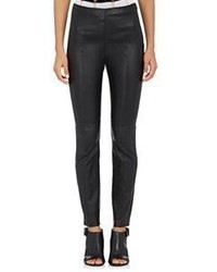 Alexander Wang T By Leather Pants Black
