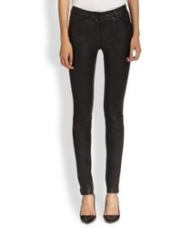 Alexander Wang T By Stretch Leather Pants
