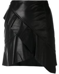 IRO Oyama Asymmetric Ruffled Skirt