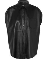 MM6 MAISON MARGIELA Leather Shirt