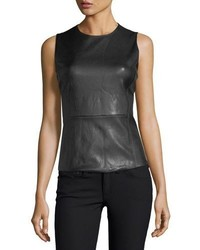 Eulia sleeveless bristol leather top medium 5259699