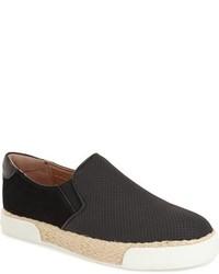 Sam Edelman Banks Perforated Slip On Sneaker