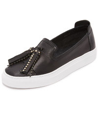 Rachel Zoe Bern Tassel Slip On Sneakers