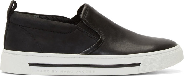 Marc by Marc Jacobs Black Calfskin
