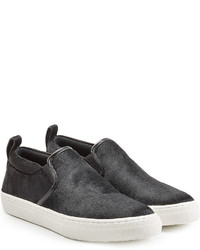 Marc Jacobs Calf Hair Slip On Sneakers