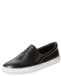 Chelsea Leather Slip On Sneaker