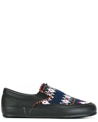 Comme des Garcons Comme Des Garons Shirt Knitted Slip On Sneakers
