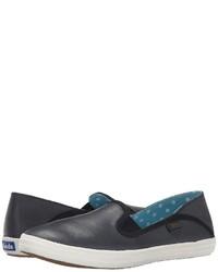 Keds Crashback Leather Slip On Shoes