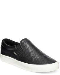 DKNY Beth Slip On Quilted Sneakers