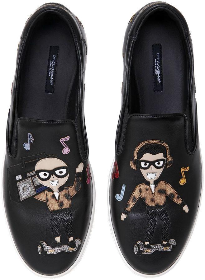 Dolce \u0026 Gabbana Dj Designers Leather