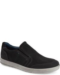 Puma El Rey Negro Y Gris Casuales Zapatos Sin Cordones sePiJ