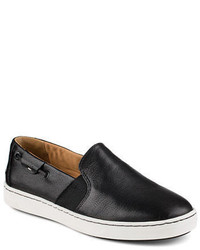 Sperry Harborview Leather Slip Ons