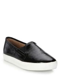 Joie Huxley Patent Leather Slip On Sneakers