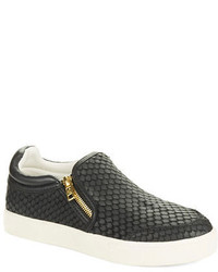 Ash Intense Leather Slip On Sneakers